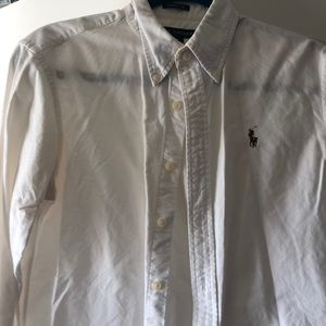 Classic fit polo button up